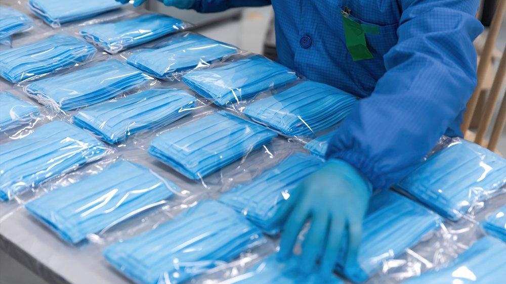Maske ve koruyucu giysi ihracatında rekor artış
