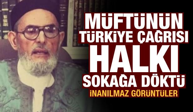 Müftünün Türkiye çağrısı halkı sokağa döktü! İnanılmaz görüntüler