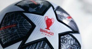 İstanbul'daki UEFA Şampiyonlar Ligi finaline özel top