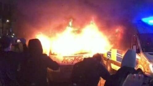 Polis yetkilerini genişleten tasarı protesto edildi