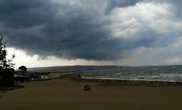 Kritik fırtına uyarısı: 25 saat etkili olacak